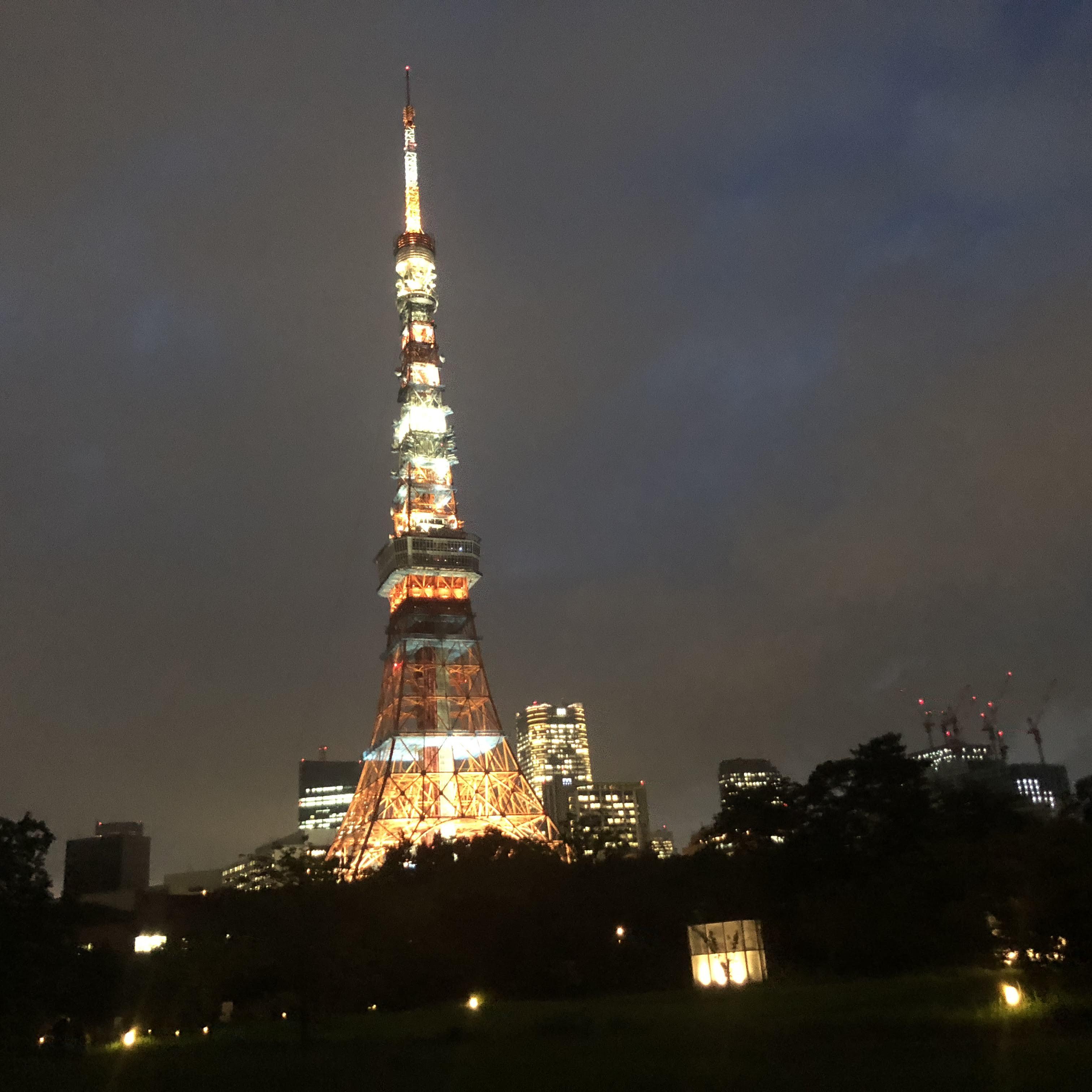 帰宅ラン 東京タワー