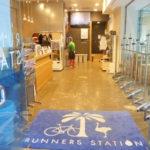 ランステ ランニングステーション 銭湯 着替え 東京 ランナーズステーション 麹町店