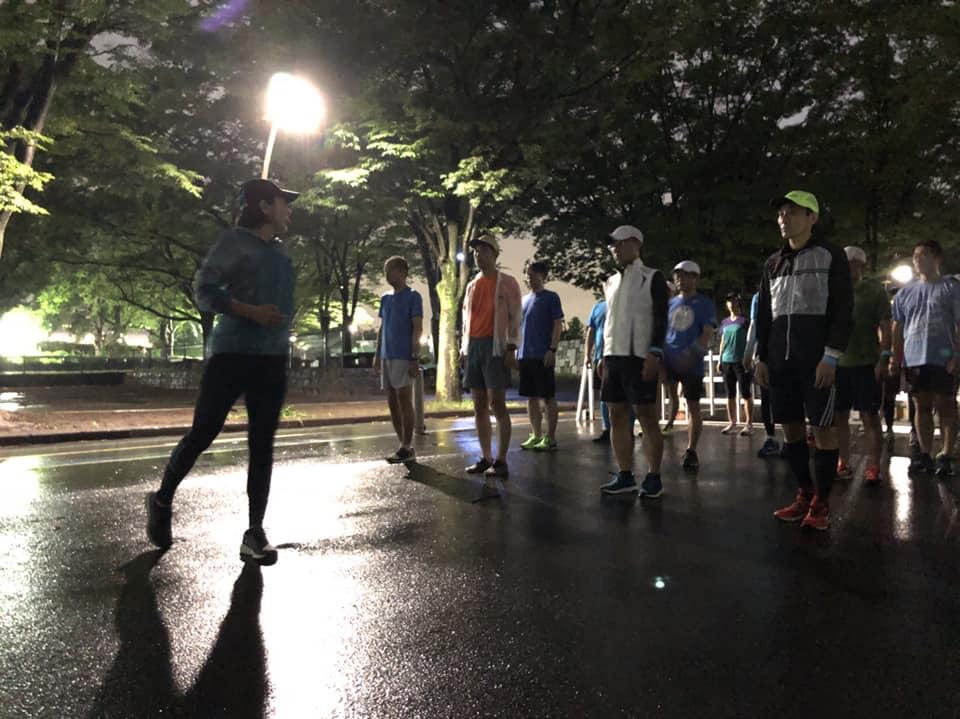 大島めぐみ サブ4 練習会 駒沢 2018