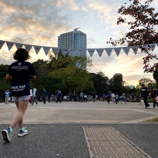 ミナトマラソン 試走 港 区 シティー ハーフ ランニング イベント