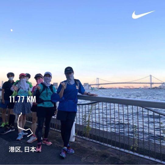 RUN+ レインボーブリッジ サンセットラン
