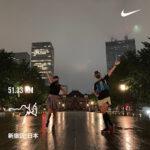 "<span class=""title"">東京マラソン試走会の試走</span>"